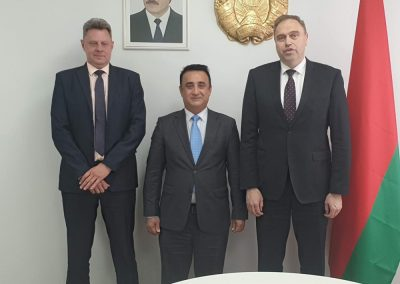 Our Meeting with Minister of health of Belarus and General director of Belmed company